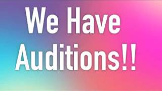 SAKs Channel Auditions 2017 (Open)