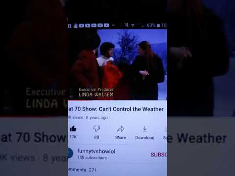 Ashton Kutcher and Mila Kunis Famous Can't Control The Weather Scene!