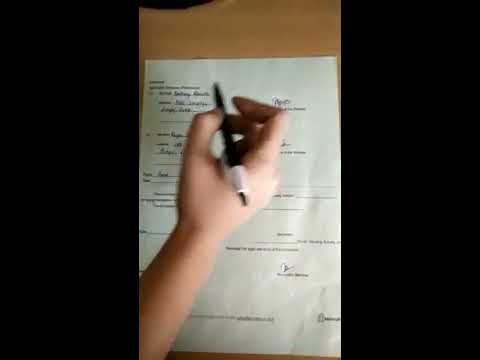 How to fill housing society nomination form - YouTube