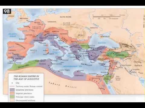 Roman History 11 - Augustus 23 BC - 14 AD