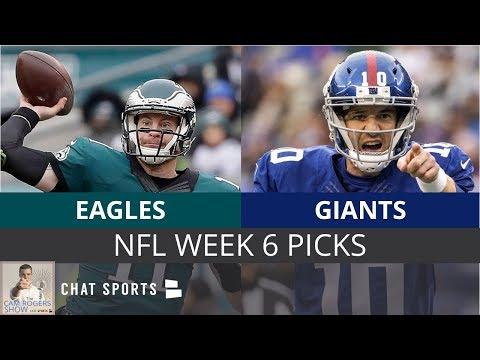 NFL Week 6 Picks: Eagles vs. Giants Odds, Preview & Prediction