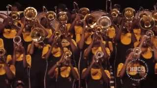 love me alabama state mighty marching hornets 2014