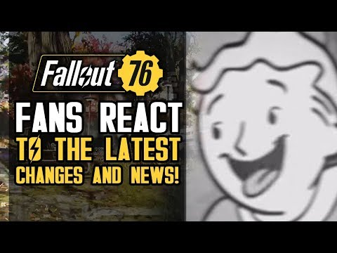 Fallout 76 Fans React to Latest Gameplay Changes, Lunchboxes and Rumors!