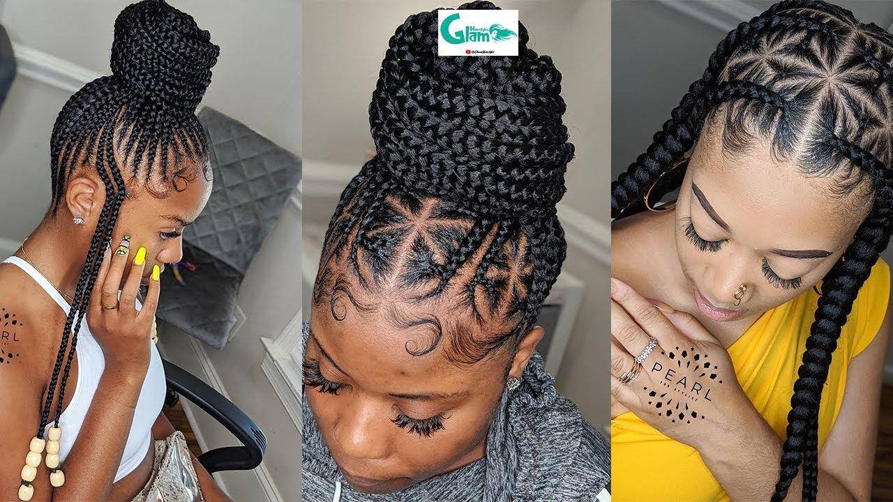 ❤️❤️GLAM WEEK!! 50 Beautiful #Braids Hairstyles For Ladies: 2020 Top Hairstyles to Upgrade your look