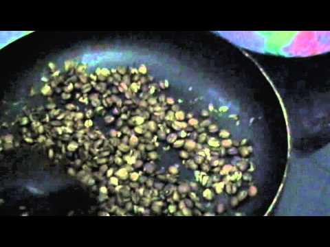 Как обжарить зеленый кофе