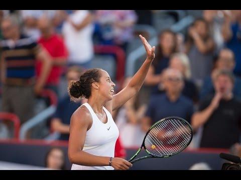2016 Coupe Rogers Semifinal   Madison Keys vs Kristina Kucova   WTA Highlights