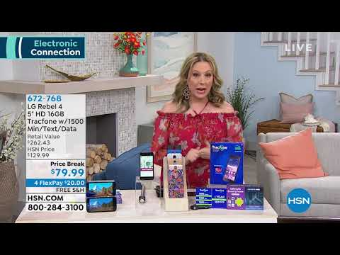 HSN   Electronic Connection featuring Apple 05.03.2019 - 08 PM