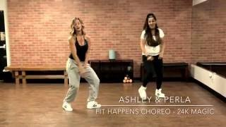 24k Magic - Zumba Dance Fitness Choreo by Ashley Nixon