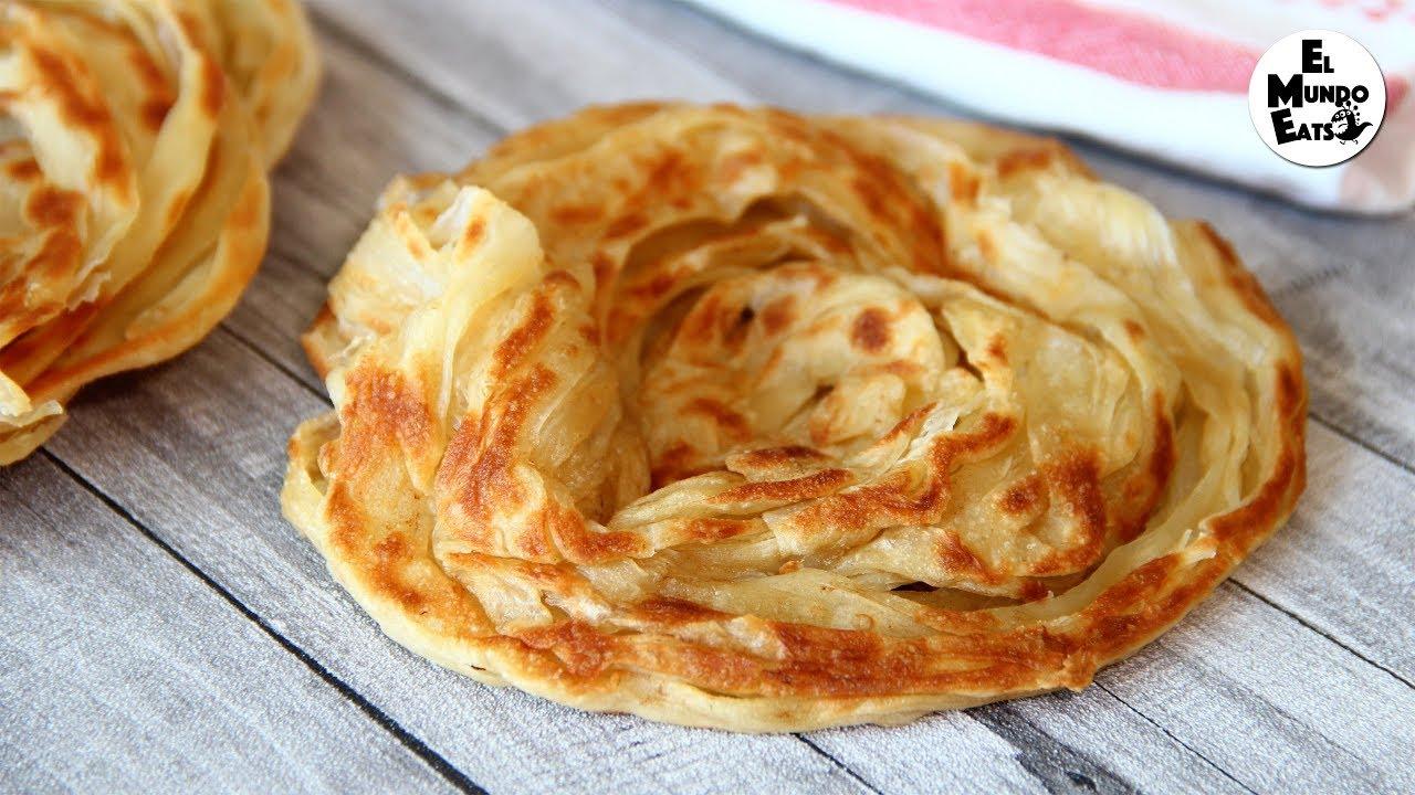 Homemade Roti Canai