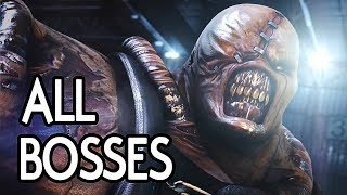 Resident Evil Operation Raccoon City - All Bosses Including Spec Ops DLC
