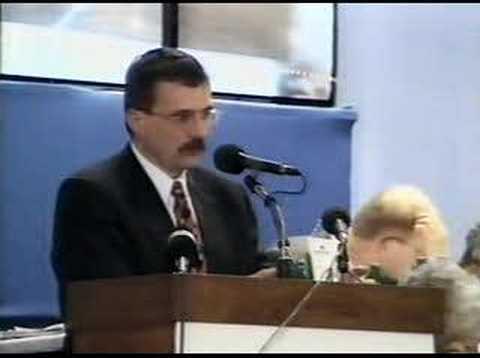 Josef Lux na Sjezdu KDU-ČSL v Českých Budějovicích 1999 (2)