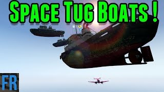 Gta 5 Challenge - Space Tug Boats