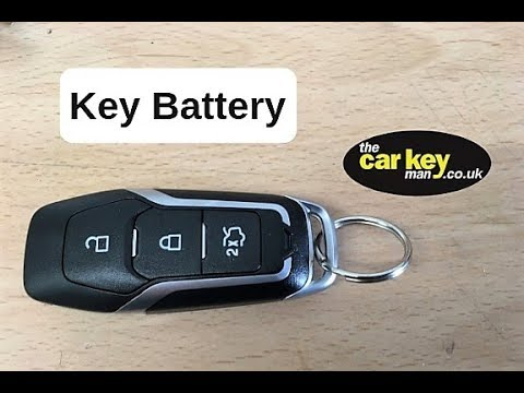 Ford Mondeo Edge Explorer Mustang Key Battery Proximity Fob How To
