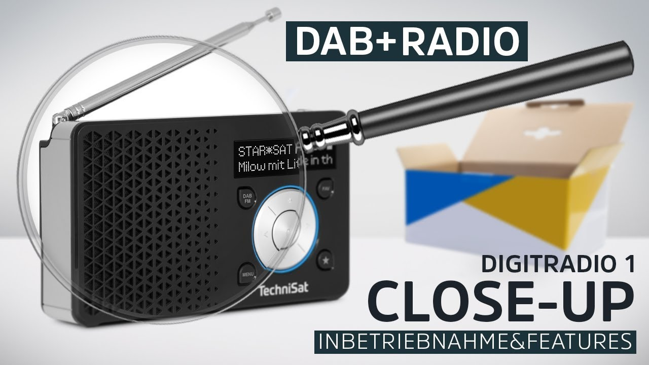 Video: DIGITRADIO 1 | Portables DAB+ Radio | Produktübersicht | TechniSat