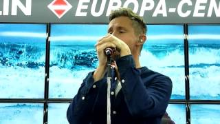 Tom Chaplin LIVE @ Saturn Berlin 17.10.16 - Quicksand