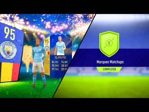 FIFA 18 COMPLETING NEW MARQUEE MATCHUPS!! TOTS SOON - ROMA VS LIVERPOOL TONIGHT!!