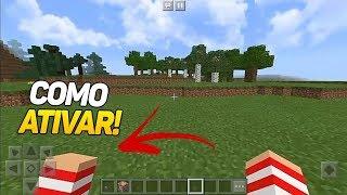 ✔COMO ATIVAR DUAS MÃOS NO MINECRAFT PE !! (Minecraft Pocket Edition)