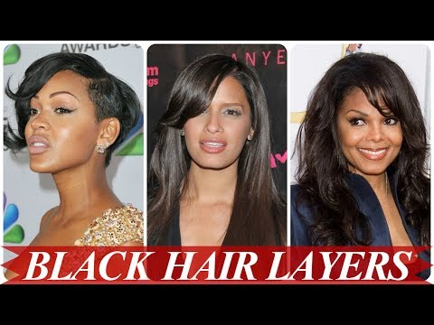 Beautiful african american layered hairstyles