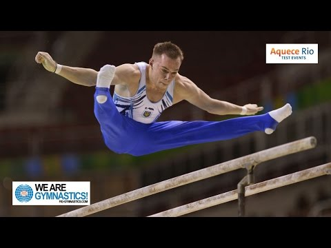 HIGHLIGHTS - 2016 Olympic Test Event, Rio (BRA) - Men's Artistic Individual Competition - Part 1