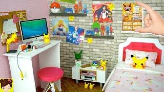 Cajitas de Accesorios de Muñecas REMENT & Habitacion para Barbies Estilo Pokemon thumbnail