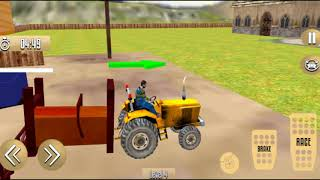 Tractor Thresher Games  Farming Games   جرار دراس ألعاب الزراعة ألعاب screenshot 4