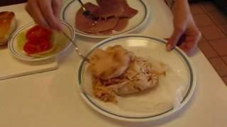 Country Ham Chicken Cheese Hoagie