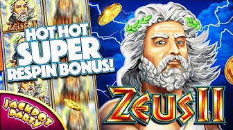 Play Zeus II with Jackpot Party Casino!