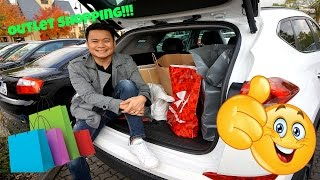 Outlet Shopping in Germany | Vlog 18