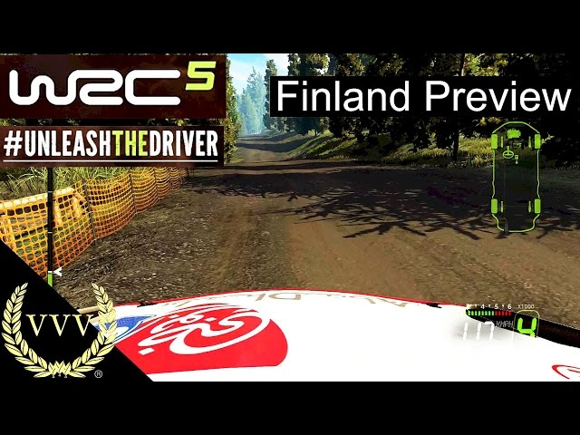 WRC 5 Gameplay Preview Part 2 Finland