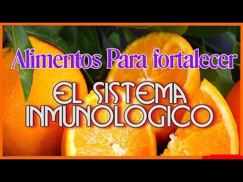 alimentos para aumentar el sistema inmune