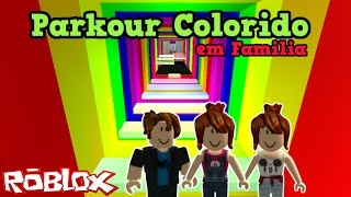 ROBLOX-COLORFUL PARKOUR IN Family (Holiday Special)