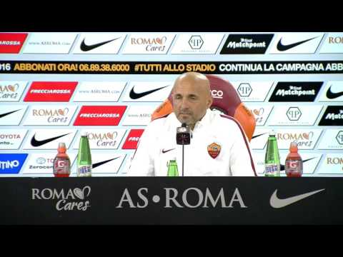 Spalletti, conferenza stampa pre Udinese-Roma (VIDEO INTEGRALE HD) 12.03.16