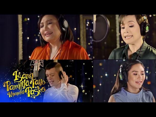 """ABS-CBN Christmas Station ID 2016 """"Isang Pamilya Tayo Ngayong Pasko"""" Recording Music Video"""