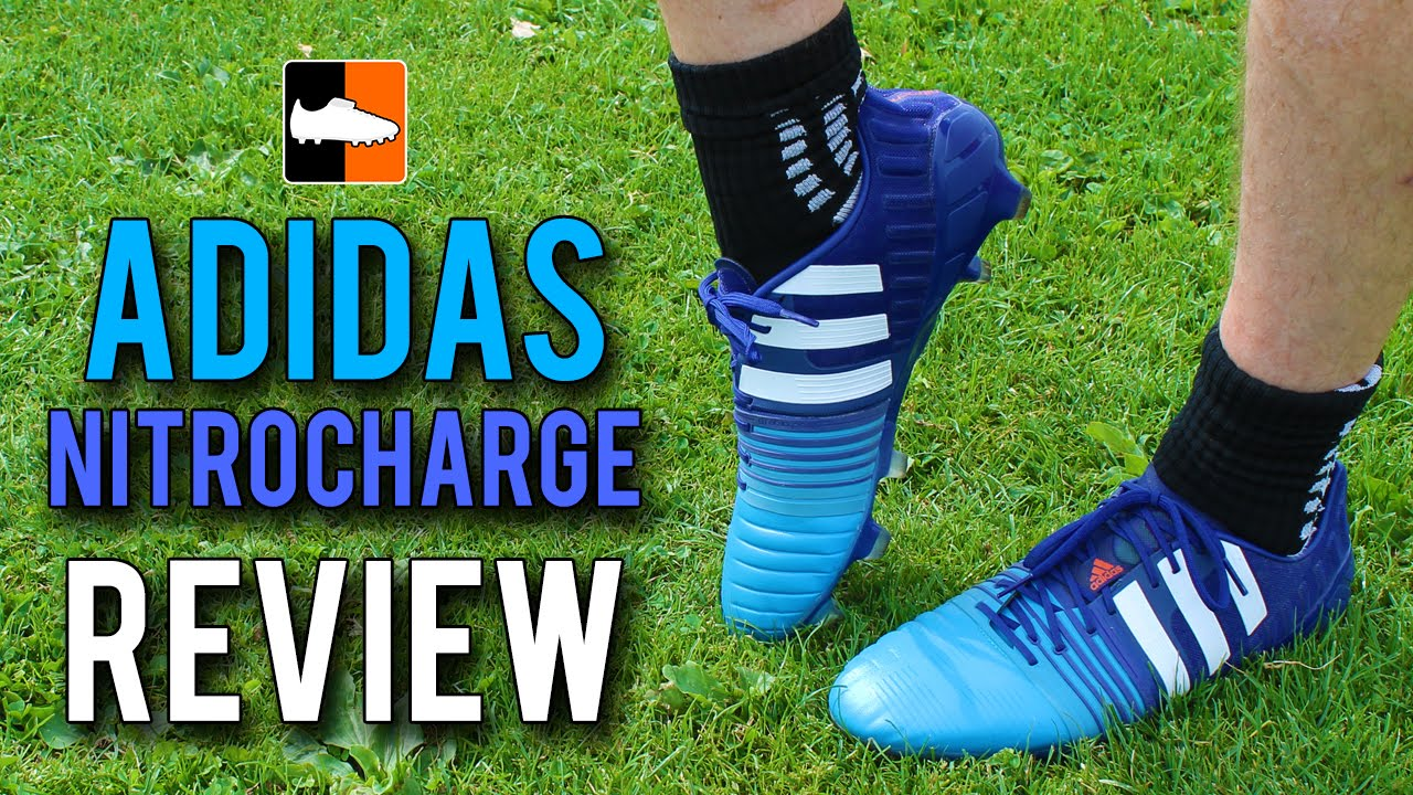 ce6ee68ca nitrocharge 1.0 Review - 2015 Blue adidas Football Boots - YouTube