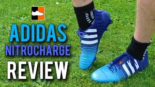 nitrocharge 1.0 Review - 2015 Blue adidas Football Boots