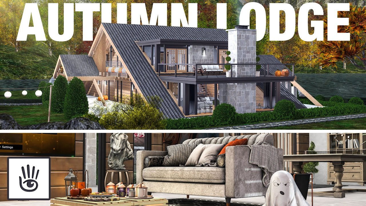 Autumn Lodge 🍂 | SECOND LIFE