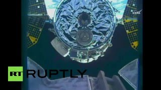 Supply Run: Cargo ship docks with International Space Station