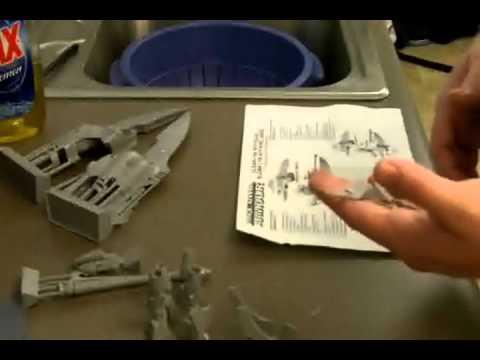 Models Workshop: Unpacking of the Eldar Lynx from Forgeworld