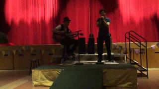 Arts Night performance Finger Eleven One Thing (cover)
