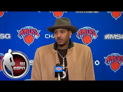 Carmelo Anthony shares how he wants to be remembered as a Knick | ESPN