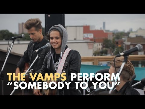 The Vamps - Somebody To You (LIVE on the ANDPOP Rooftop)