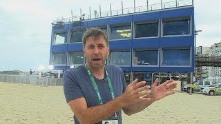 Copacabana Studio Tour - Olympic Games Rio 2016 - BBC Sport