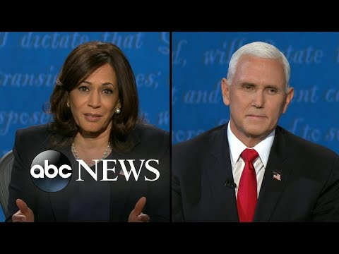 Kamala Harris and Mike Pence discuss foreign policies l VP Debate 2020