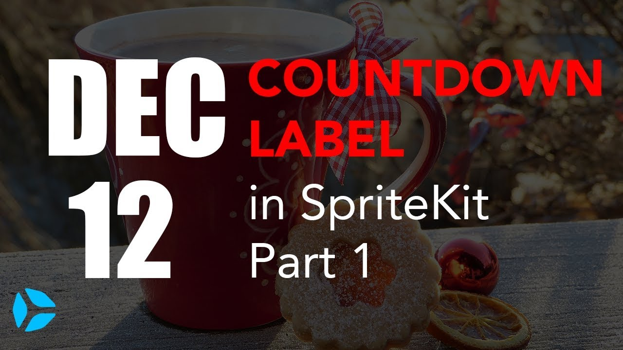Countdown Timer in SpriteKit and Swift 4 (Part 1)