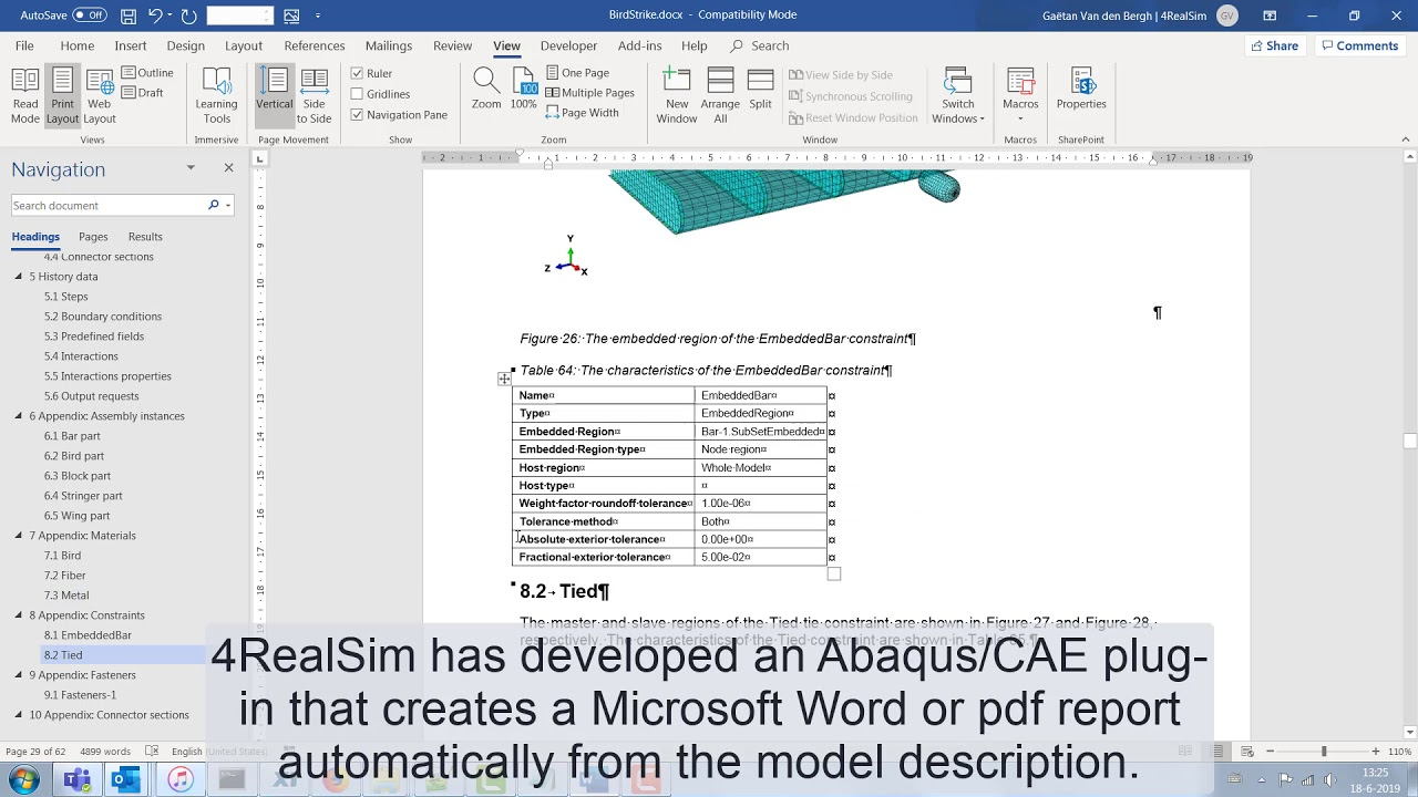 Webinar: Introduction to the Abaqus/CAE QA report generator