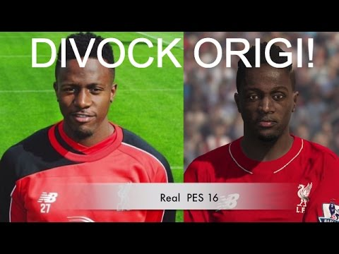 DIVOCK ORIGI IN FIFA 16 AND PES 2016! (Face Review) #79 - YouTube