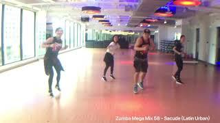 Baixar Zumba Mega Mix 58 - Sacude (Latin Urban) by KIWICHEN Zumba