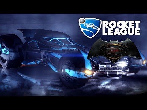 BATMOBILE - Rocket League Gameplay (Batman v Superman: Dawn of Justice Car Pack)