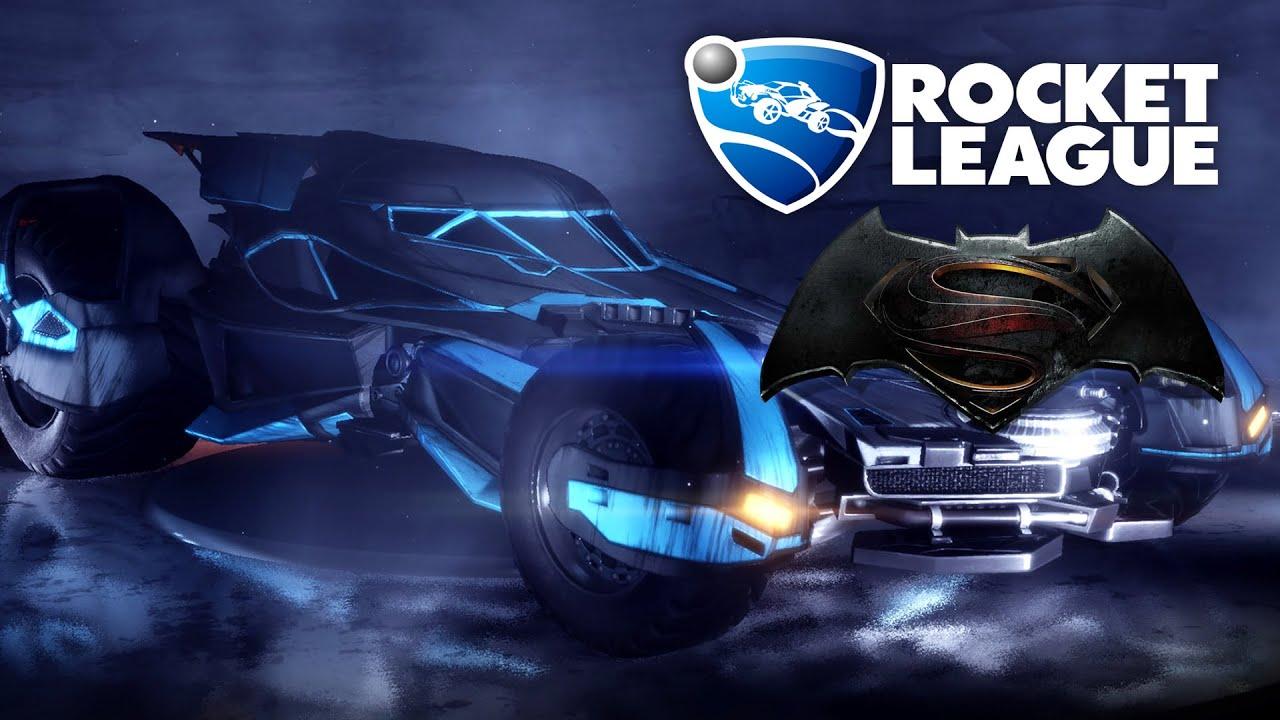 BATMOBILE - Rocket League Gameplay (Batman v Superman ...