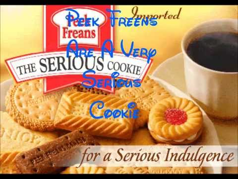 Peek Freans Are A Very Serious Cookie